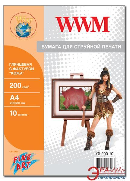 Бумага для фотопринтера WWM (GL200.10)