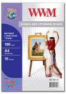 Бумага для фотопринтера WWM (MC190.10)