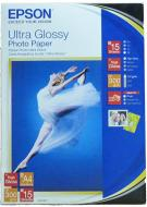 Бумага для фотопринтера Epson A4 Ultra Glossy Photo Paper (C13S041927)
