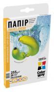 Бумага для фотопринтера ColorWay PNG255-20 (PNG2550204R)