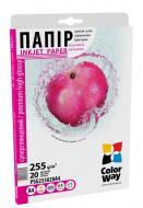 Бумага для фотопринтера ColorWay PSG255-20 (PSG255020A4)