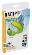 Бумага для фотопринтера ColorWay PNG255-50 (PNG2550504R)