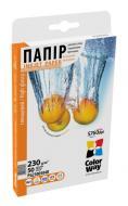 Бумага для фотопринтера ColorWay PG230-50 (PG2300504R)