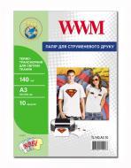 Бумага для фотопринтера WWM (TL140.A3.10)