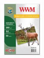 Бумага для фотопринтера WWM (SG260.50)