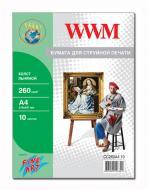 Бумага для фотопринтера WWM (CC260A4.10)