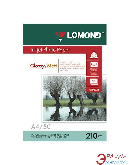 Бумага для фотопринтера Lomond (0102021)