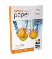 Бумага для фотопринтера ColorWay PG180-100 (PG180100A4)