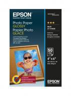 Бумага для фотопринтера Epson Photo Paper Glossy 100x150mm 50 л (C13S042547)