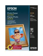 ������ ��� ������������ Epson Glossy Photo Paper A4 20 � (C13S042538)