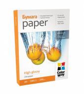 Бумага для фотопринтера ColorWay PG230-100 (PG230100A4)