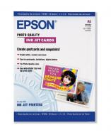 ������ ��� ������������ Epson A6 Photo Quality Ink Jet Card 50�. (S041054)