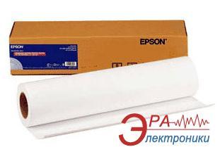 Бумага для плоттера Epson Singleweight Matte Paper 17x40m (C13S041746)