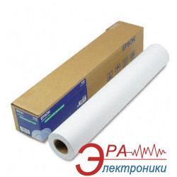 Бумага для плоттера Epson Adhesive Synthetic Paper 24x30,5m (C13S041617)