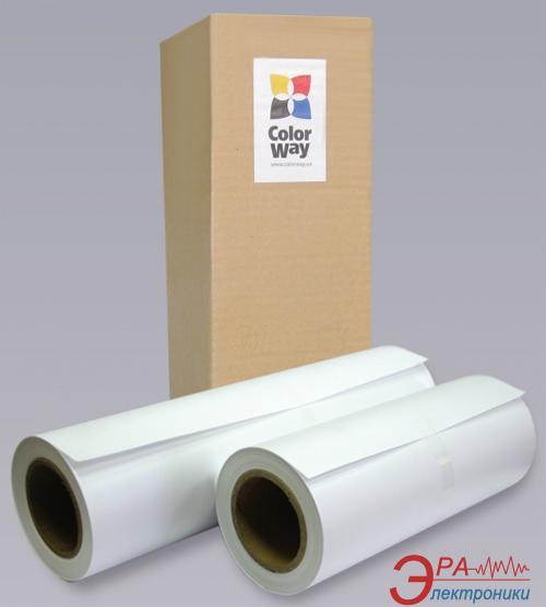 Бумага для плоттера ColorWay 160 г/м2 914мм 36x30м гл. (PG16091430RL)
