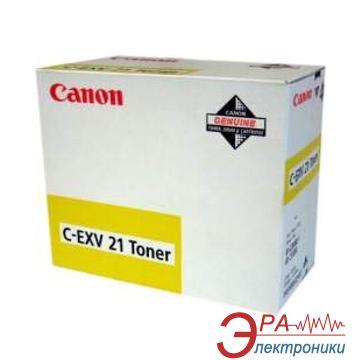 Тонер Canon C-EXV21 (0455B002) yellow