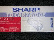 Тонер картридж Sharp ZT-20TD2 red