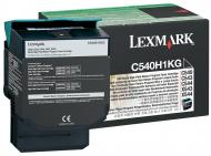Тонер картридж LEXMARK (C540H1KG) black