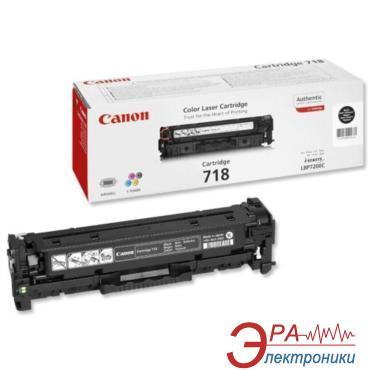 Тонер картридж Canon 718 (2662B002) black