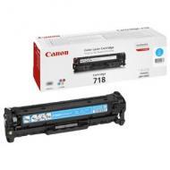 Тонер картридж Canon 718 (2661B002) cyan