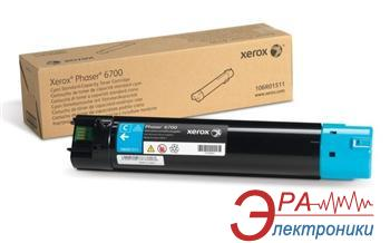 Тонер картридж Xerox PH6700 (106R01511) cyan