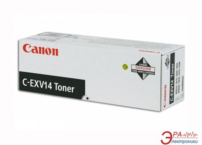Тонер Canon C-EXV14 (1 туба) (0384B006) black