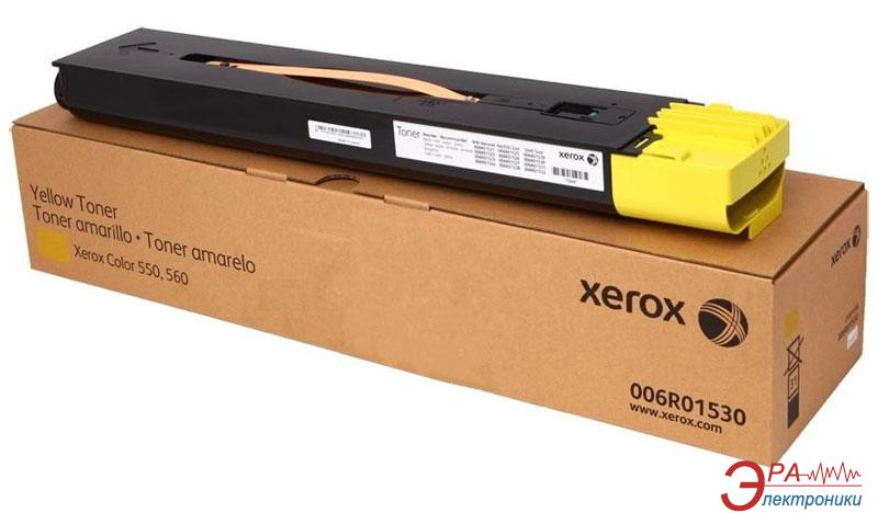 Тонер картридж Xerox Color 550/560 (006R01530) yellow