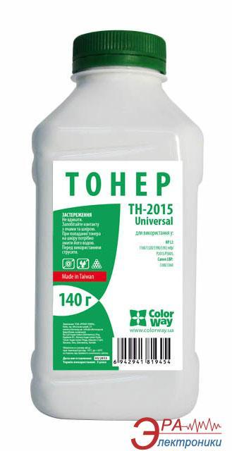 Тонер cовместимый ColorWay HP LJ1160/1320/2015 (TH-2015) 140 г.