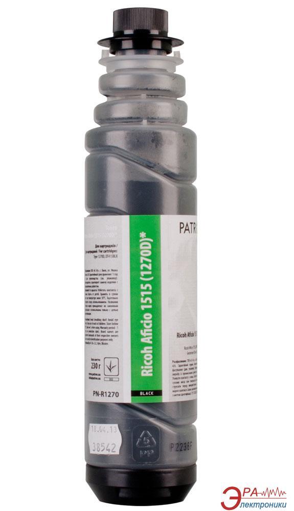 Тонер-туба совместимый Patron Ricoh 1270D/DT415BLK (Aficio 1515) (T-PN-R1270D-230) 230 г.