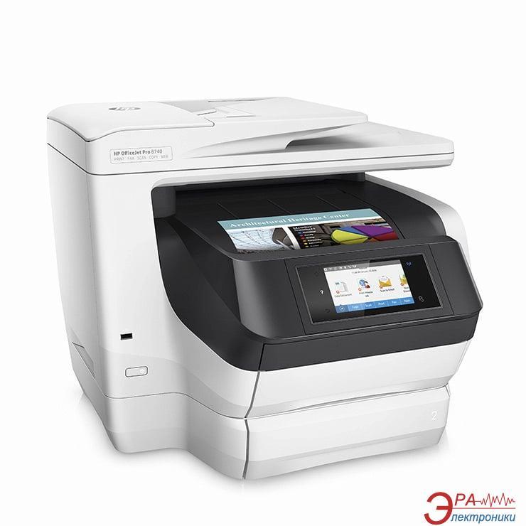 МФУ A4 HP OfficeJet Pro 8740 Wi-Fi (D9L21A)