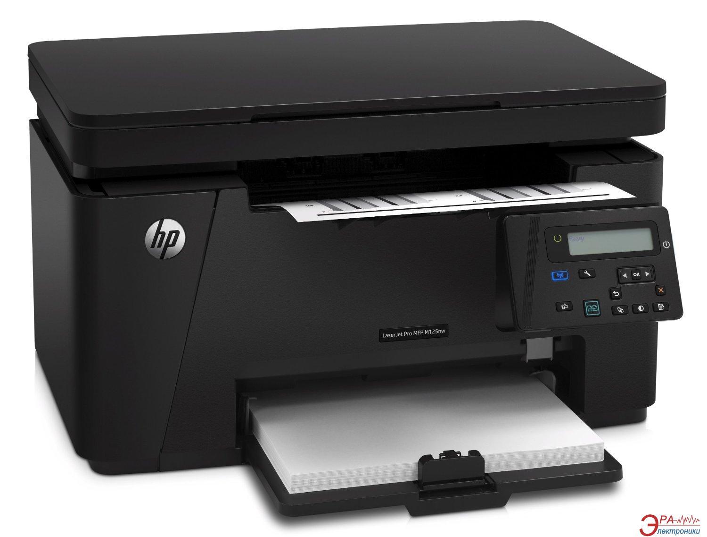 МФУ A4 HP LaserJet Pro MFP M125nw Wi-Fi (CZ173A)