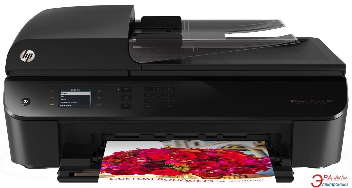 МФУ A4 HP Deskjet Ink Advantage 4645 c Wi-Fi (B4L10C)