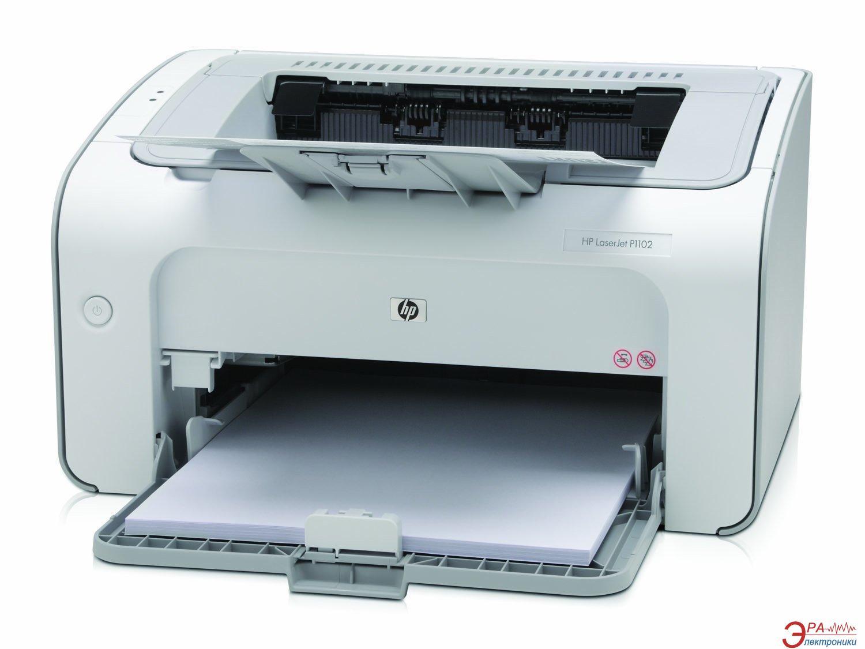 Принтер A4 HP LaserJet Pro P1102 (CE651A)