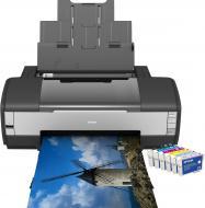 Принтер A3 Epson Stylus Photo 1410 (C11C655041)