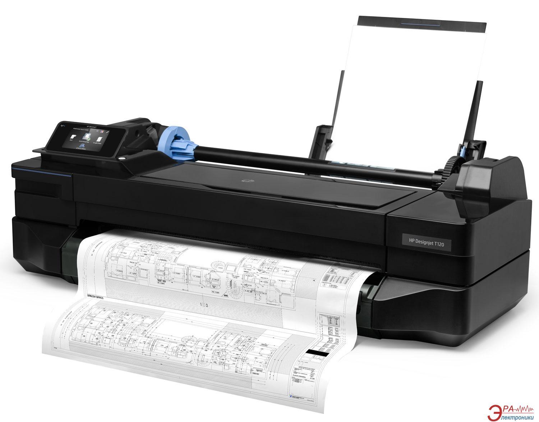 Широкоформатный принтер A1 HP DesignJet T120 с Wi-Fi (CQ891A)