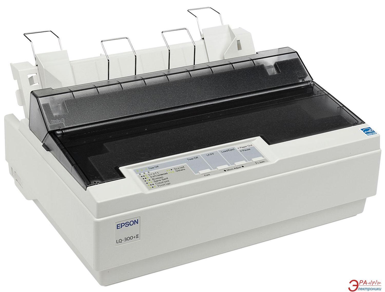 Принтер A4 Epson LQ-300+II (C11C638001)