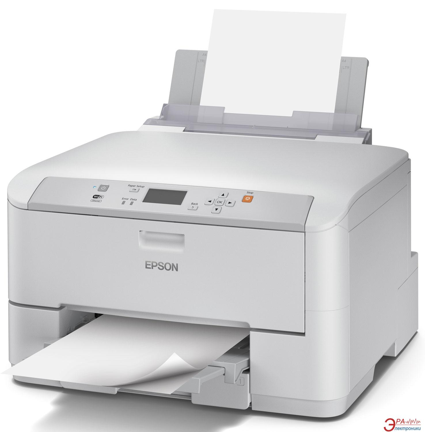 Принтер A4 Epson WorkForce Pro WF-5110DW (C11CD12301)