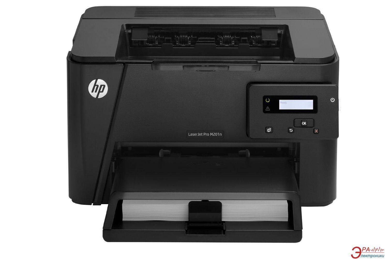 Принтер A4 HP LaserJet Pro M201n (CF455A)