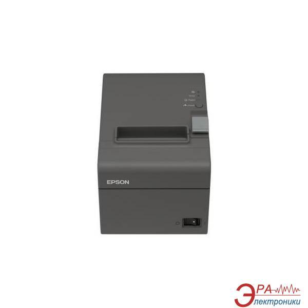 Принтер для печати чеков и контрольной ленты Epson TM-T20 COM (Daek Grey) + PS (C31CB10002)