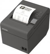 Принтер для печати наклеек Epson TM-T20II Ethernet/USB I/F (Dark Grey)+PS (C31CD52003)