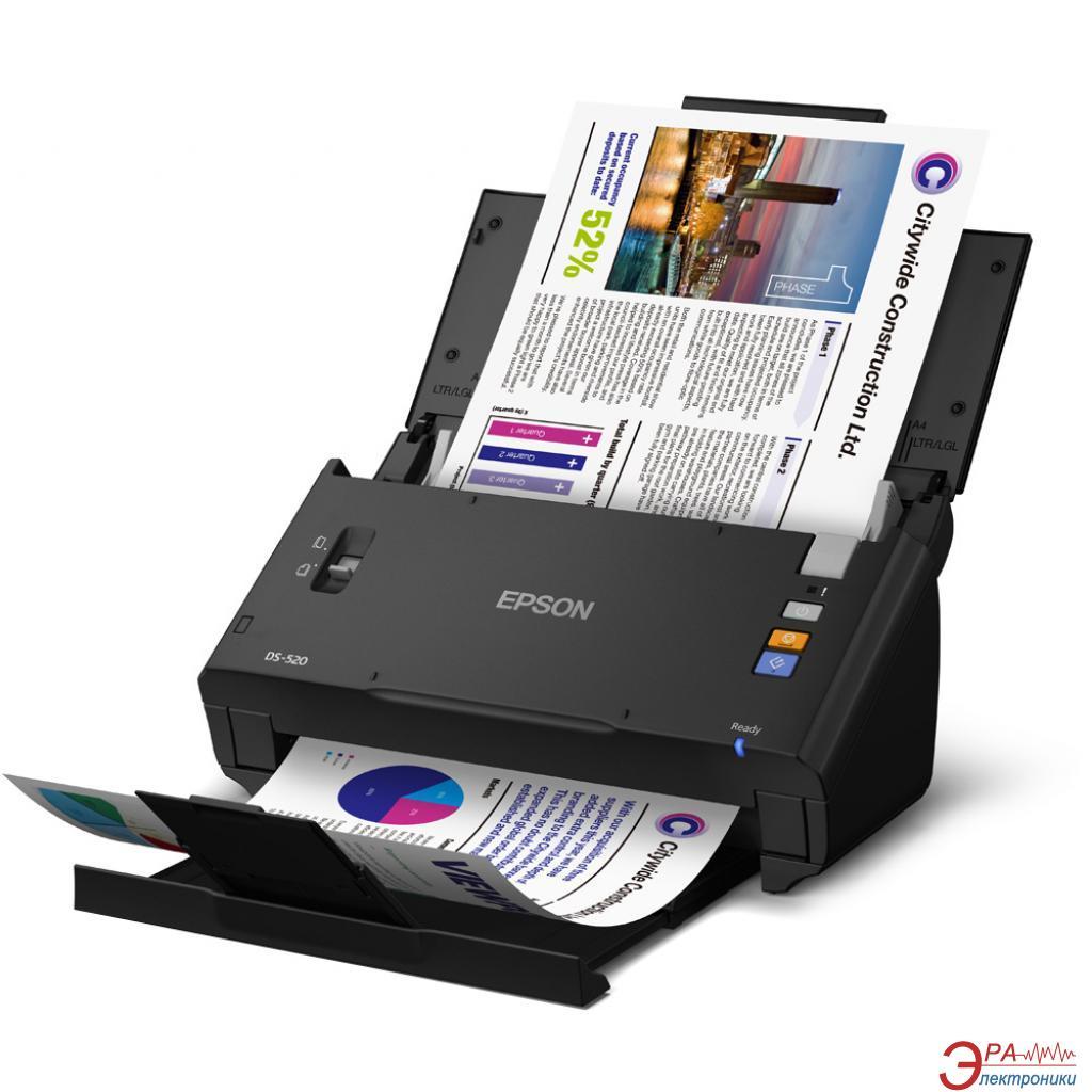 Сканер А4 Epson WorkForce DS-520N (B11B234401BT)