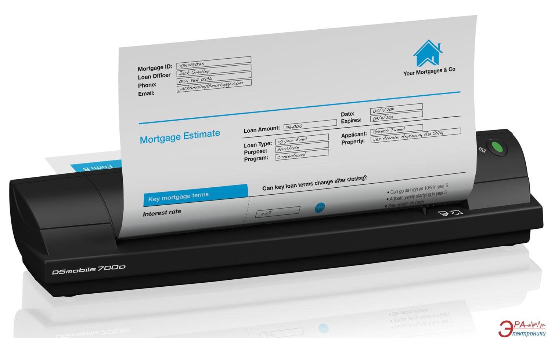 Сканер А4 Brother DS-700D (DS700DZ1)