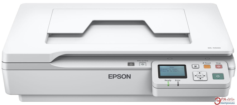Сканер А4 Epson DS-5500N (B11B205131BT)