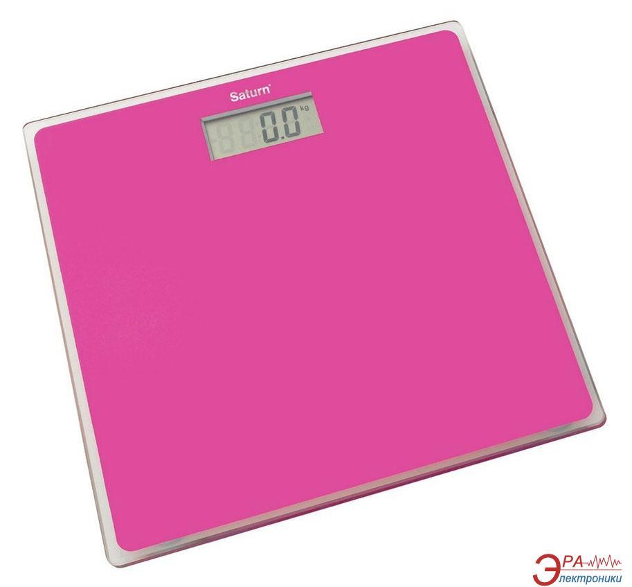 Весы напольные Saturn ST-PS1247 Pink