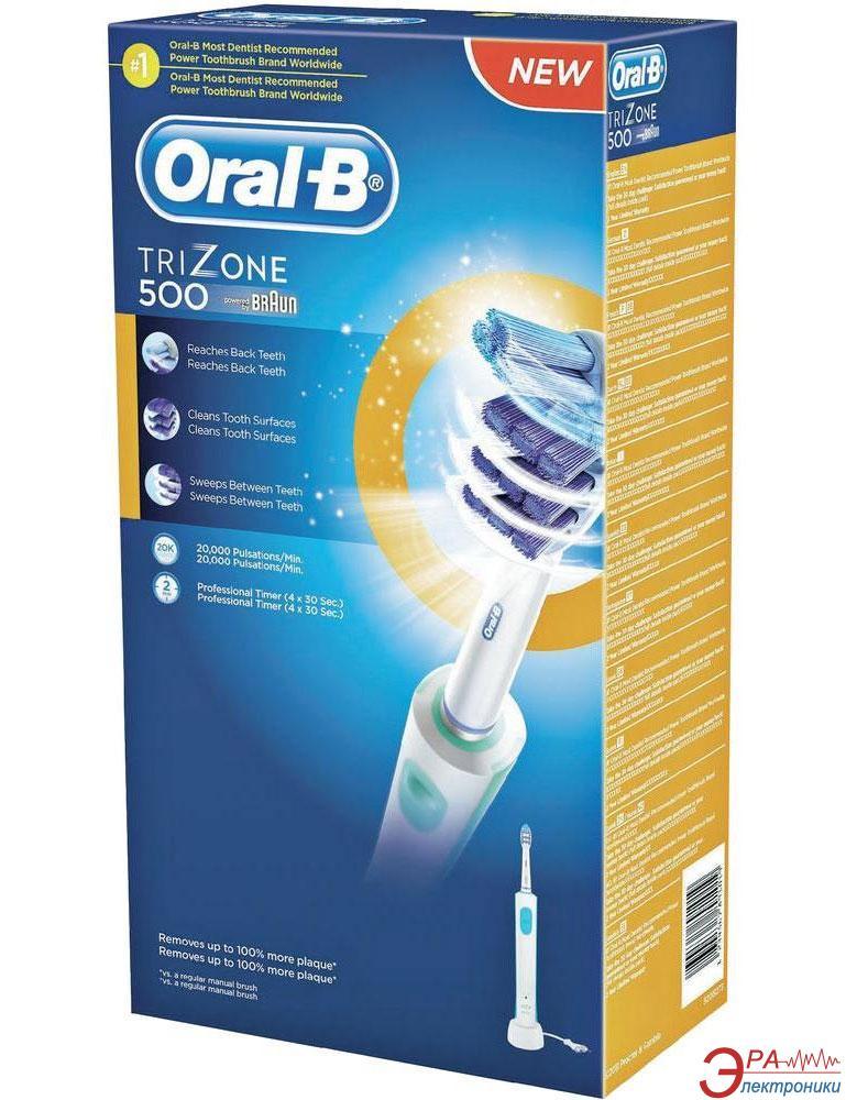 Электрическая зубная щетка Braun ORAL-B Trizone 500/D16