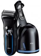 Электробритва Braun 350cc Black/blue