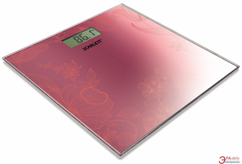 Весы напольные Scarlett SC-215 Raspberry