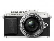 Цифровой фотоаппарат Olympus Pen E-PL7 14-42 mm Pancake Zoom Kit Silver (V205073SE001)