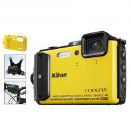�������� ����������� Nikon Coolpix AW130 Outdoor kit Yellow (VNA844K001)