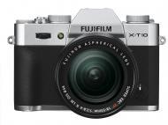 �������� ����������� Fujifilm X-T10 + XF 18-55mm F2.8-4R Kit Silver (16471457)